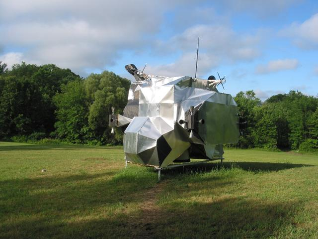 LEM, 2003-2007, 13'X11'X14', aluminum, steel, epoxy, wood, rubber, money